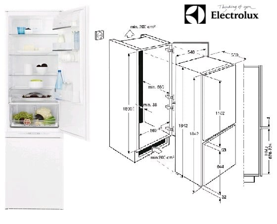 какие бывают размеры холодильников какой глубины бывают